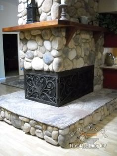 Centuries Ago Iron Fireplace Doors For Our Outdated