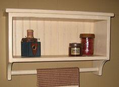 Primitive Bathroom Colors | Primitive Bathroom Shelves | PRIMITIVE COUNTRY ... | Home Sweet Home