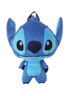 Disney Lilo & Stitch Plush Backpack,