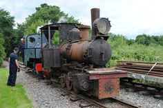 1923 Fowler 0-6-0WT being shunted by the Kerr Stuart JOFFRE, last seen at Thirkeld