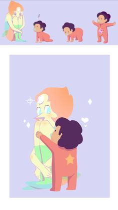 Pearl and Baby Steven