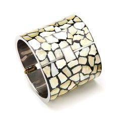 Mosaic Shell Cuff
