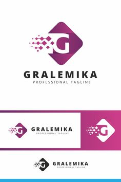 Gralemika G Letter Logo: multifunctional logo that can be used in technological companies, in companies and applications for software development, construction Data Logo, Cleaning Companies, Letter Logo, Software Development, Logo Templates, Candy, Lettering, Collection, Design