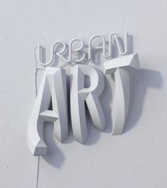 on Behance Urban art encyclopedia. on Behance Creative Typography, Typographic Design, Typography Letters, Typography Poster, Design 3d, Grid Design, Logo Design, Type Design, Lettering Design