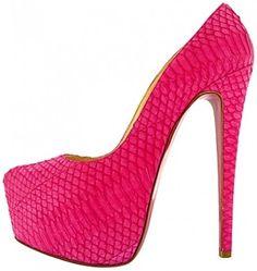 Scarpe rosa Christian Louboutin Dorothy Johnson Scarpe Da Donna 7a10da93121