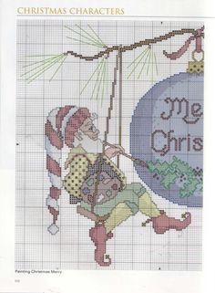 Gallery.ru / Фото #105 - A Cross-Stitch Christmas - OlgaHS