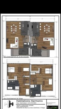 05185 - Duplex (2 unités) - Plans de multilogements - Nos plans ...