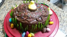 HAPPY EASTER CAKE I MADE 3/2016