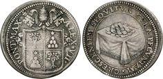 NumisBids: Numismatica Varesi s.a.s. Auction 65, Lot 770 : ALESSANDRO VII (1655-1667) Giulio s.d., Roma. D/ Stemma R/ Tavolo...