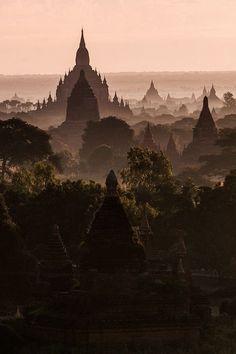 "Original pin said ""Tibet"" but this looks more like Myanmar/Burma's Bagan valley to me."