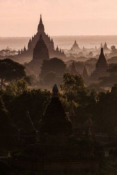 "Original pin said ""Tibet"" but this looks more like Myanmar/Burma's Bagan valley to me."