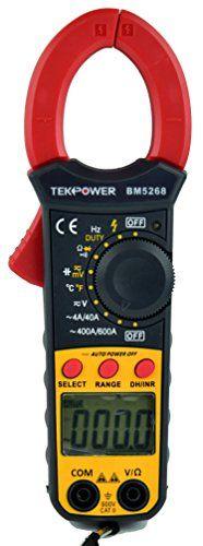 Tekpower TP5268 Digital Clamp Meter AC/DC Voltage 600V,AC Current 600A, Mastech DT266 Alike , INNOVA