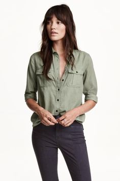 Camisa de algodón   H&M