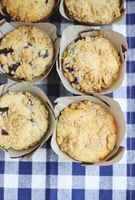 Lavender Blueberry Muffins - A Beautiful Mess