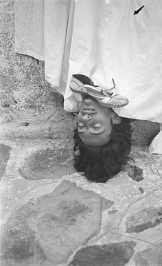 Salvador Dalí in 1933. Photo by Man Ray.