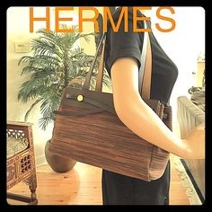 Gorgeous RARE Authentic Hermes Vibrato Absolutely gorgeous Authentic Hermes Vibrato/tote shoulder bag .VIBRATO Is a rare type of Hermes Her Bag *They only made a few because to make just one is very expensive and time consuming process. In excellent condition !! Hermes Bags Totes