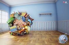 #ads LG Vacuum Cleaner: Ball