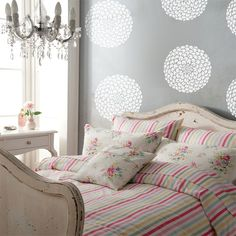 Wall decals vinyl stickers  Ball Dahlias by LivingWall on Etsy, $48.00