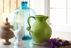Love a good ceramic pitcher.