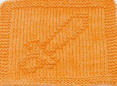 Knitting Cloth Pattern  TOY SWORD  PDF  Instant by ezcareknits, $2.85