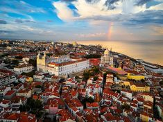 The rolling hills of Lisbon have attracted visitors for centuries and the city offers something for everyone from luxury hotels to tasty tarts Tour Around The World, Around The Worlds, Great Places, Places To See, Lisbon Tours, In Season Produce, Most Beautiful Cities, Best Sites, How To Take Photos