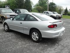 2001 Chevy Cavalier      Mine was black with a sunroof.  I loved it!