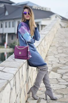 Balkan style by M.: Sweater dress