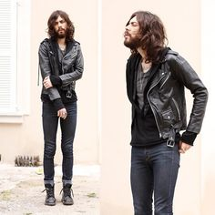 Men Style - Leather Jacket - Campera de cuero - Rock -  Cultura es Disenio