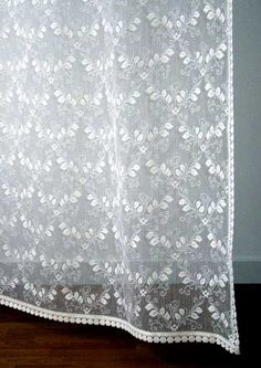 An exceptional redesign of a old standard in a leaf pattern.  Lace Panels start at $89.95.