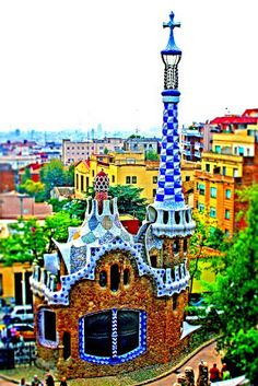 Beautiful,Colorful, Artistic & Unusual Home/Building or Structure in Barcelona, Spain