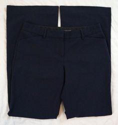 Express Design Studio Editor Flare Navy Womens Dress Pants Size 6 (S8#119) #Express #DressPants Dress Pants, Bermuda Shorts, Flare, Casual Shorts, Navy, Collection, Dresses, Design, Vestidos