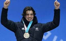 Nico with his bronze medal at Pyeongchang 2018 Can Run, Rain Jacket, Windbreaker, Running, Collages, Boys, Wattpad, Bronze, Men