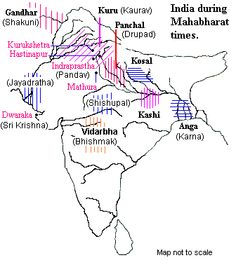 History Discover Map of India during Ramayana and Mahabharata Ancient Indian History, History Of India, Ancient Map, Gernal Knowledge, General Knowledge Facts, Hinduism History, Geography Map, Hindu Culture, India Facts