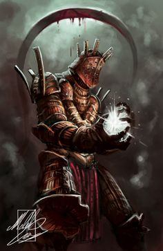 Michele Giorgi Illustrator : Dark Souls Sketch : Knight Lautrec of Carim