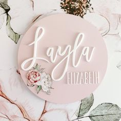 Name Plaques – Faith Laine Different Font Styles, Name Plaques, White Acrylics, Girl Nursery, Christening, Clear Acrylic, Kids Bedroom, Decor Styles, Playroom