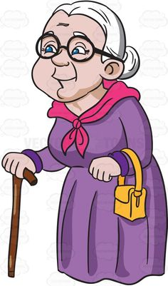 A Charming And Happy Grandmother Pencil Art Drawings, Cartoon Drawings, Easy Drawings, Flower Graphic Design, Pre Wedding Poses, Cartoon Clip, Old Couples, Yellow Handbag, Family Illustration
