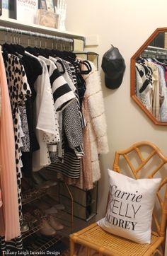 Tiffany Leigh Interior Design: My Walk In Closet Makeover Reveal