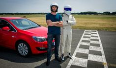 Hugh Jackman and the STIG on Top Gear