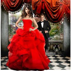 """""""Red Dress"""" by cavell on Polyvore"""