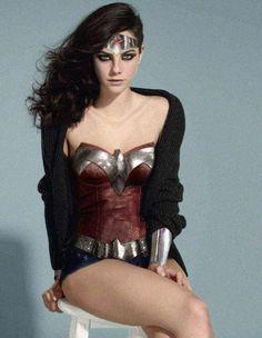 Kaya Scodelario as Wonder Woman sitting on a stool wearing a cardigan (? So sue me. Costume by Josh MC: [link] [link] SITE: [link] Kaya Scodelario as WW Dc Cosplay, Cosplay Outfits, Best Cosplay, Cosplay Girls, Cosplay Costumes, Woman Costumes, Wonder Woman Cosplay, Kaya Scodelario, Princesa Diana