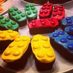 Lego brownies- brilliant