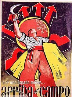 Spain - 1936-39. - GC - poster - falange