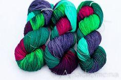 Sweet Aran - Octopus Garden - Colour Adventures (fibers: superwash merino) on Etsy, £12.23
