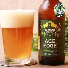 Para este Ipa Day da @confraria27 nós selecionamos aACE EDGE da @buxtonbrewery!  É uma cerveja muito especial. Com o lúpulo Sorachi Ace ela tem muito sabor e equilíbrio! O amargor é uma pancada mas muito rápido. É seca e com belíssimo amargor.