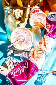 trendy pop art photography photographs still life Le Pop Art, Still Life Photography, Art Photography, Product Photography, A Level Art, Still Life Art, Still Life Photos, Foto Art, Art Plastique