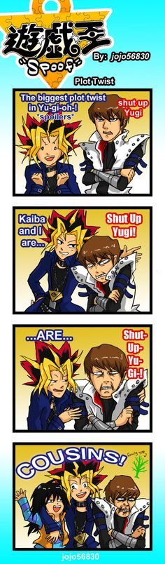 YGO Spoof:family by jojo56830.deviantart.com on @deviantART