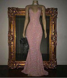Light Pink Shimmer Dress