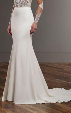Modern Wedding Gown Seperates | Martina Liana