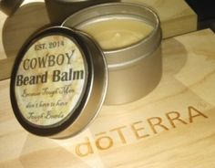 DIY Beard Balm made with dōTERRA® Essential Oils. Helps condition skin beard hair and prevent drying and dandruff which causes itchiness. Homemade Beard Oil, Diy Beard Oil, Beard Oil And Balm, Homemade Beauty, Diy Beauty, Beauty Stuff, Doterra Essential Oils, Yl Oils, Beard Game