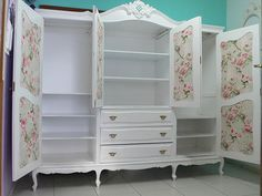 New Decor Diy Quarto Casal Ideas Shabby Chic Bedrooms, Decor, Furniture Makeover, Painted Furniture, Trendy Decor, Refurbished Furniture, Furniture, Home Decor, Cute Furniture
